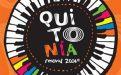 El logo del festival. Foto: Twitter / Quitonía Oficial
