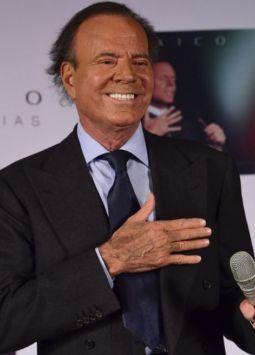 Julio Iglesias. Foto: AFP.
