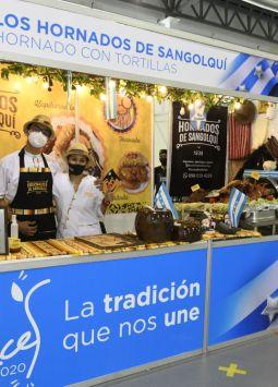 Las huecas ganadoras del 2019 exhibieron su propuesta gastronómica. Foto: Vistazo.
