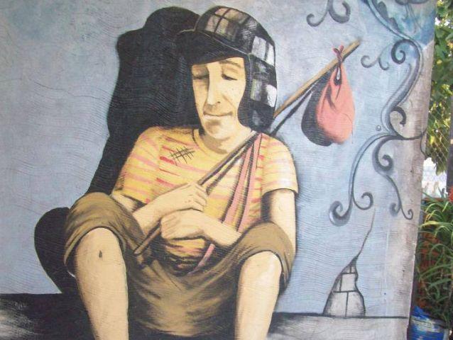 Mural en Buenos Aires. Fuente: chavodelocho.com