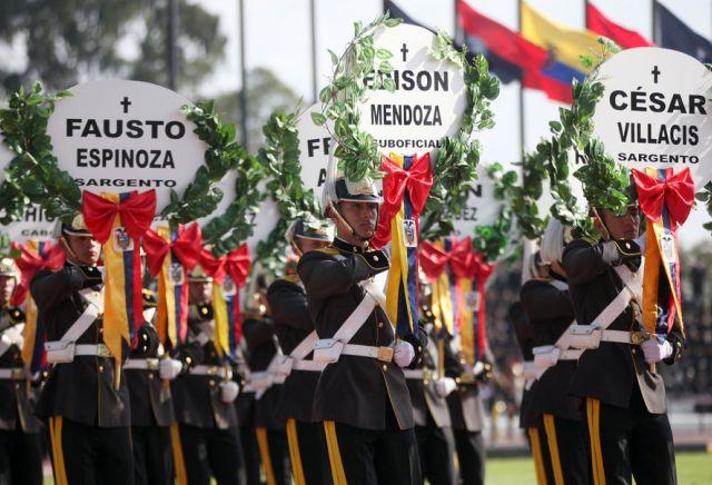 Acto en la Escuela Militar Eloy Alfaro. Foto: Flickr / Presidencia de la República.