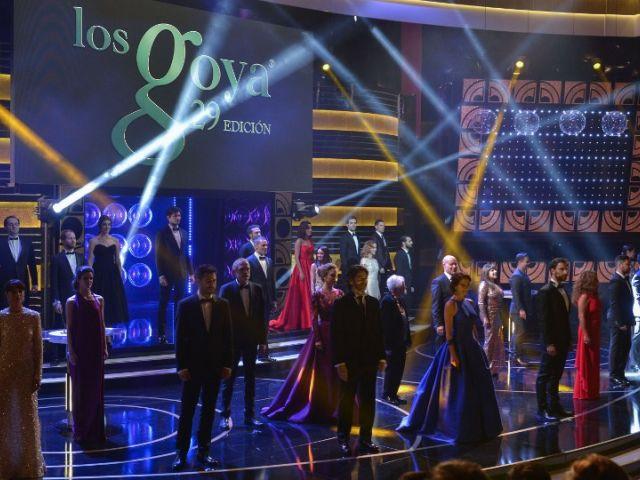 Premios anuales de la Academia de las Artes y las Ciencias Cinematográficas de España. Foto: AFP