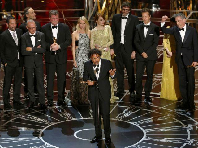"""""""Birdman"""" se llevó los premios a Mejor Película, Mejor Director, Mejor Guión Original y Mejor Fotografía."""