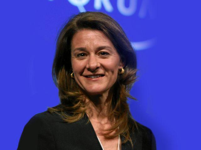 Melinda Gates (Cofundadora - CoPresidente de la Fundación Bill y Melinda Gates) Niños: Tres. Junto con su esposo Bill, es una de las personas más ricas del mundo.