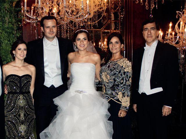 Alfonso Romero, Estefanía de Ortega, Diego, María José, Cynthia Durán y Juan Carlos Cornejo.