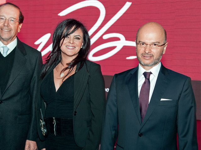 Osvaldo Hurtado, María Sol Meneses y Carlos Larreátegui.