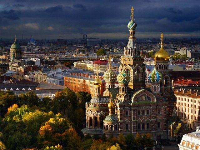 Iglesia de la Sangre Serramada, San Petersburgo - Rusia.