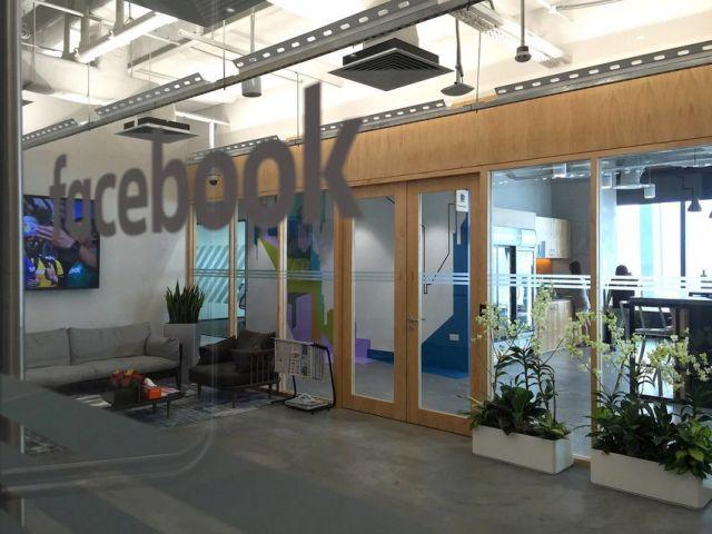 Ingreso a las oficinas de Facebook mahjong.