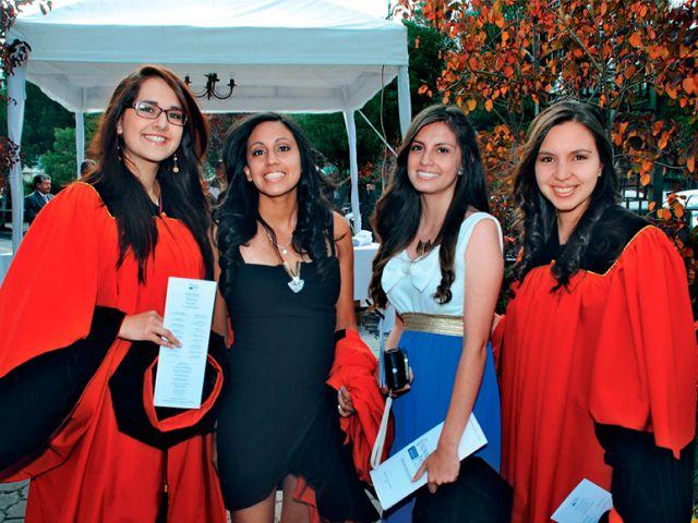 Esther Carvajal, Andrea Aguirre, María Belén Aguirre y Daniela Acuria.