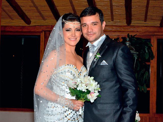 Katherine Uday y Sebastián Navarrete.