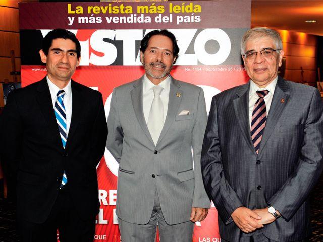 Francisco Alvarado, Carlos Ortega y Joaquín Hernández.