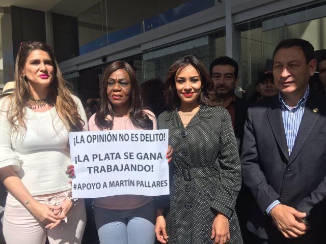 El periodista Martín Pallares es declarado inocente en querella presentada por Correa