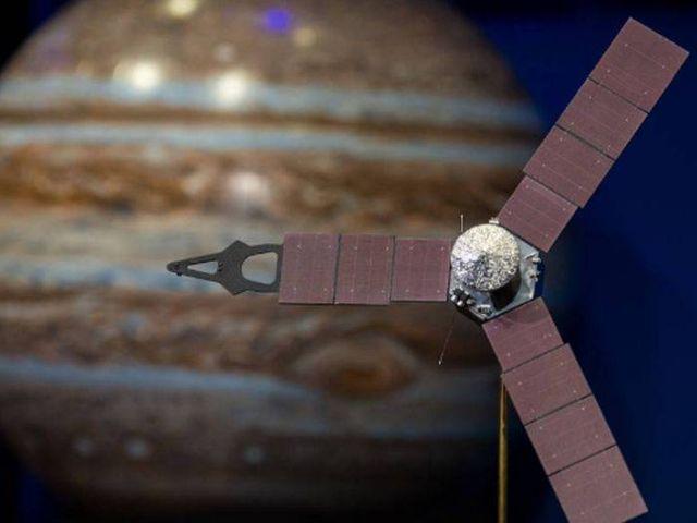 Juno llegó el lunes a la órbita de Júpiter tras 5 años de histórica misión
