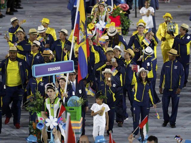 Delegación ecuatoriana. Foto: REUTERS
