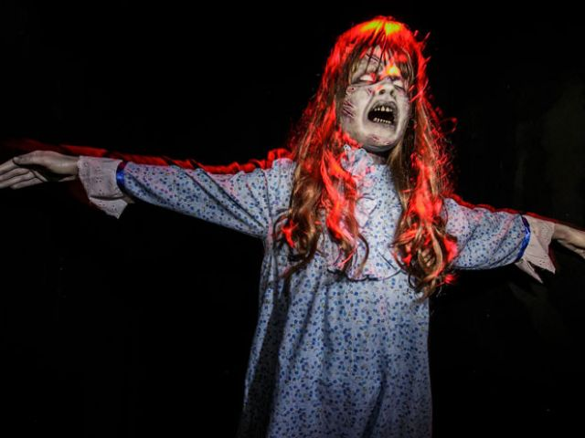 El laberinto del exorcista en Halloween Horror Nights. Foto: Halloween Horror Nights / Los Angeles, California