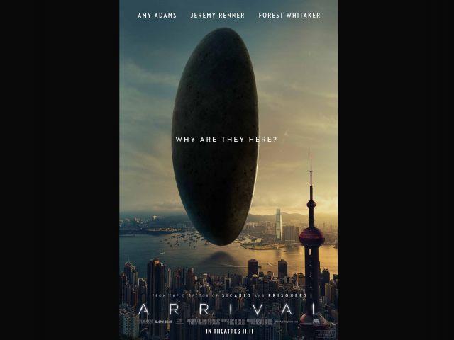 "Mejor película - ""Arrival"""