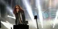 """Steven Tyler abrió su presentación con el estruendoso saludo """"Hola mis panas de Quito. Foto: @TVEcuador"""
