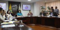 Villacís asumió como nueva presidenta del Consejo Nacional Electoral luego de que Juan Pablo Pozo decidiera dejar su cargo y no prorrogarse en funciones. Foto: