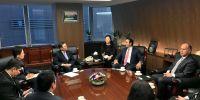El anuncio de los directivos de la institución financiera se dio en el marco del la visita que realiza actualmente a Corea del Sur el ministro de Comercio Exterior, Pablo Campana. Foto: Min. Com. Exterior
