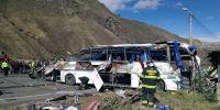 Accidentes de tránsito: Un vía crucis en las carreteras de Ecuador. Foto: AFP