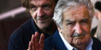 """""""Yo no soy una estrella, yo nací estrellado"""", asegura Mujica durante la presentación oficial del documental. Foto: AFP"""