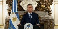 """""""Sabemos que es un impuesto malo, malísimo, pero les tengo que pedir que entiendan que es una emergencia"""", dijo Macri. Foto: AFP"""
