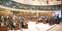 La presidenta de la Asamblea Nacional, Elizabeth Cabezas, convocó a la sesión No. 551 del Pleno, con el fin de tratar estos dos temas. Foto: Asamblea Nacional