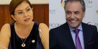 Sofía Espín y Carlos Ochoa. Foto: Collage Vistazo