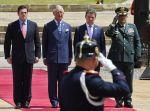 Antes de llegar a México, el príncipe Carlos estuvo <br>cinco días en Colombia. Foto: AFP