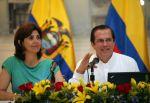 Holguín y Patiño dieron declaraciones sobre las fumigaciones en la frontera. Foto: Flickr / Cancillería del Ecuador