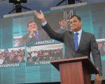 Rafael Correa dio entrevista con distintos medios de comunicación en Ambato. Foto: Flickr / Presidencia Ecuador