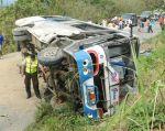 Trece muertos y 142 heridos por día se registran en el país a causa de siniestros de tránsito. Foto: Archivo Vistazo