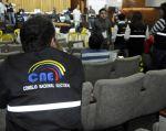 La comisión encargada de la renovación parcial del Consejo Nacional Electoral se reunió ayer.