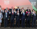 Cancilleres se reunieron previo a la III Cumbre de la CELAC. Foto: Cancillería de Ecuador