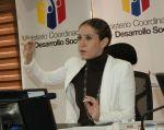 Cecilia Vaca, ministra de Desarrollo Social. Foto: FLICKR/Ministerio de Coordinador de Desarrollo Social.