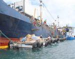 Desembarque de productos. Foto: Gobernación Galápagos