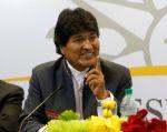 """Sobre la situación en Venezuela, Morales expresó que """"el imperio no acepta cuando surgen lideres políticos o sindicales antiimperialistas"""". Foto: REUTERS"""