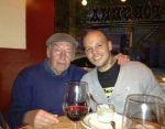 René Pérez y Eduardo Galeano se conocieron en un restaurante en Nueva York.