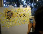 """Guillermo Dávila """"El Mago"""" recordó conversaciones que mantuvo con Gabo en las que habían destacado la necesidad de """"economizar la tinta, las palabras, los adjetivos y los superlativos"""". Foto: REUTERS"""
