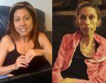 El antes y el después de Rachael Farrokh.