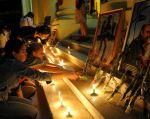 LA HABANA, CUba.- La isla cumple un duelo de nueve días y las cenizas del padre de la revolución cubana serán expuestas el lunes 28 y el martes 29. Foto:  Telemetro.