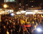 Ciudadanos manifiestaron su rechazo contra el proyecto de Ley de Plusvalía.   Fotos: Cortesía.