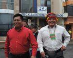 El dirigente Shuar fue trasladado al Centro de Rehabilitación Social de Latacunga. Foto: Archivo.