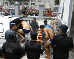 La nueva rebelión tuvo lugar esta madrugada en la prisión pública Desembargador Raimundo Vidal Pessoa, en pleno centro de Manaos, al norte de Brasil. Foto: Globo Brasil
