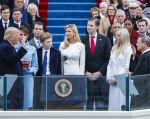 El magnate Donald Trump juró hoy como 45º presidente de Estados Unidos. Foto: EFE