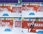 Deportado de Francia, un esquiador venezolano pudo competir finalmente en el Mundial de esquí nórdico de Lahti, Finlandia, donde vio la nieve por primera vez. Foto: Reuters