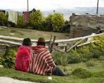 Los analistas atribuyen el descontento de los indígenas a la política del mandatario de explotar recursos naturales. Foto: AFP
