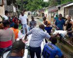 Algunos incidentes se registraron ayer 20 de mayo en el norte de Esmeraldas debido a las lluvias. Foto: Riesgos