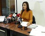 Jeannine Cruz, asambleísta del CREO por Loja, denunció supuestos vínculos de la familia de un exministro del gobierno de Rafael Correa. Foto: TW de J.Cruz