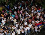"""Antes de que fueran difundidos los resultados, el oficialismo los cuestionó, al señalar que el proceso no es vinculante y es """"ilegal"""". Foto: Reuters"""